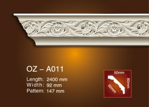 Sculpture Cornice moulage OZ-A011
