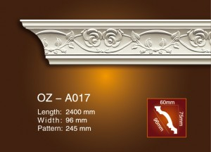 Sculpture Cornice moulage OZ-A017