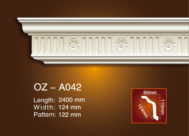 Carving Cornice Moulding OZ-A042 Featured Image