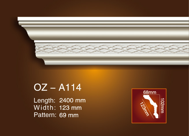 Carving Cornice Moulding OZ-A114 Featured Image