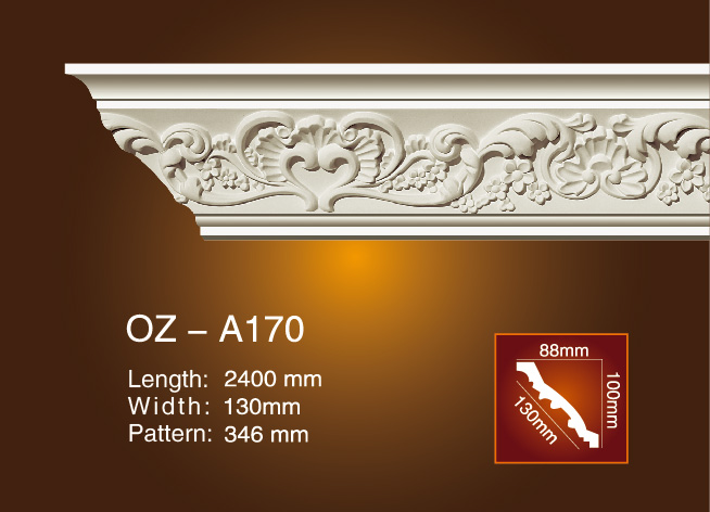 Carving Cornice Moulding OZ-A170 Featured Image