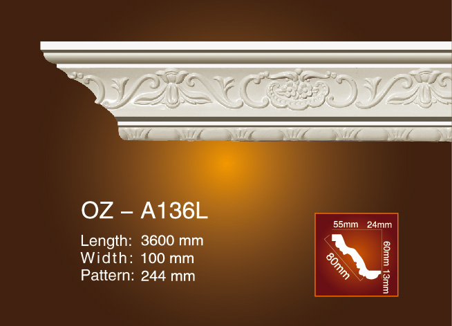 Carving Cornice Moulding OZ-A136L Featured Image