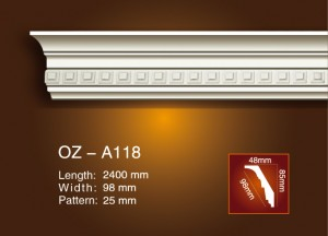 Carving Cornice Lajsne OZ-A018