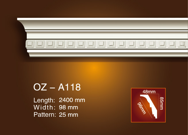 Carving Cornice Moulding OZ-A018 Featured Image