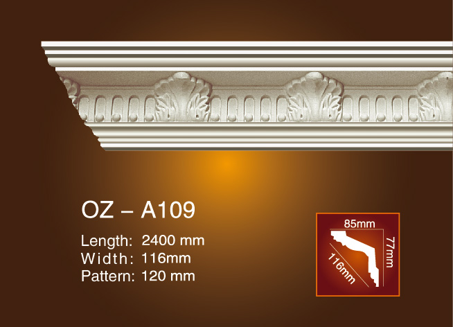 Carving Cornice Moulding OZ-A109 Featured Image