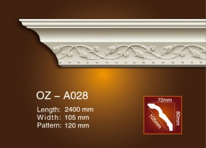 Carving Cornice Moulding OZ-A028