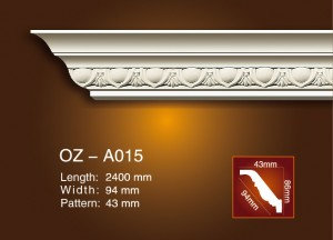 Sculpture Cornice moulage OZ-A015