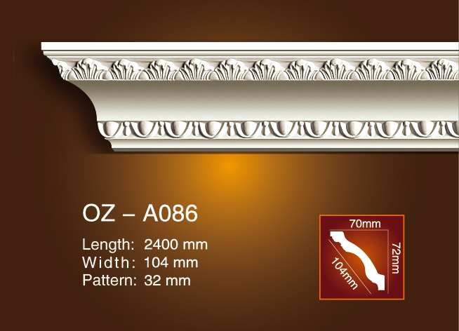 Carving Cornice Moulding OZ-A086 Featured Image