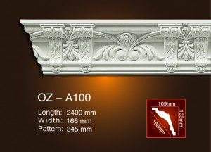 Carving Cornice Moulding OZ-A100