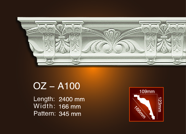 Carving Cornice Moulding OZ-A100 Featured Image