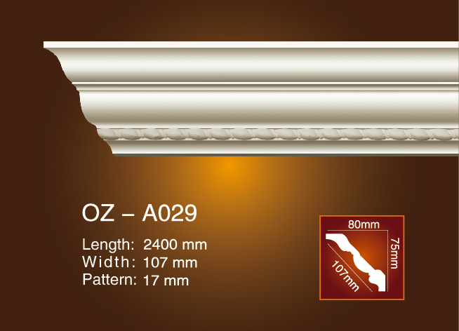 Carving Cornice Moulding OZ-A029 Featured Image