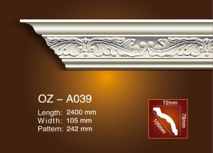 Carving Cornice Moulding OZ-A039
