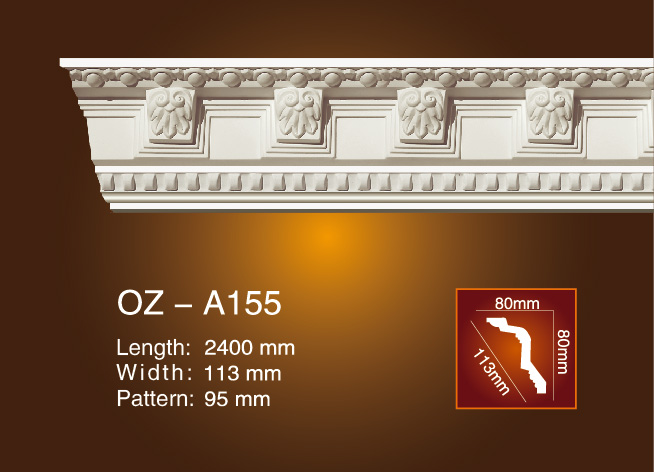 Personlized Products Hot Sale China Pvc Pe Pp Pa Abs Medical Tube Extrusion Line - Carving Cornice Moulding OZ-A155 – Ouzhi