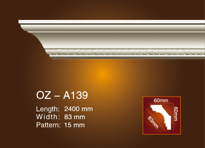 Hot sale Factory Uk For Pu End Caps Window Button Mold - Carving Cornice Moulding OZ-A139 – Ouzhi