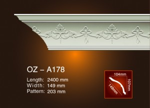 Carving Cornice Moulding OZ-A178