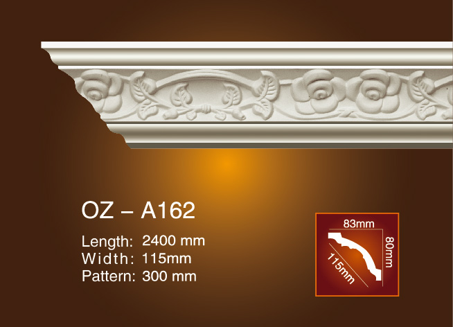 Reasonable price for Automobile Foam Mold - Carving Cornice Moulding OZ-A162 – Ouzhi