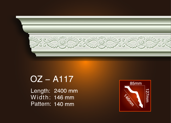 High reputation Gypsum Gesso Light Trough Design -