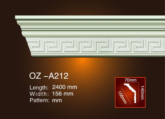 Carving Cornice Moulding OZ-A212 Featured Image