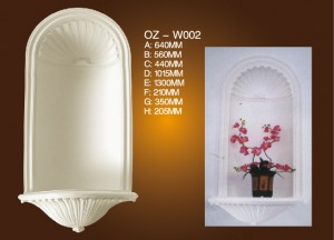 Combination Fireplace Wall Cage OZ-W002