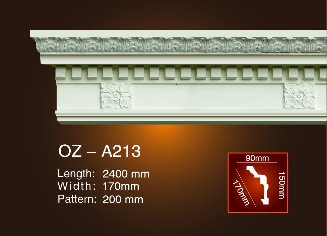 Professional China Fiber Glass Molds - Carving Cornice Moulding OZ-A213 – Ouzhi Featured Image