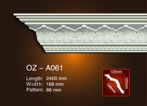 Carving Cornice Moulding OZ-A061