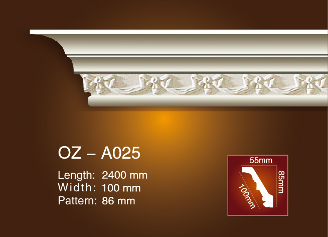 Carving kroanlist Molding OZ-A025 Featured Image