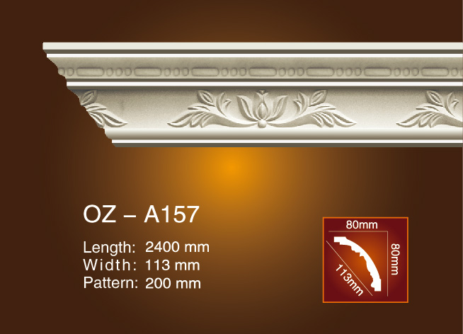 OEM Customized Trim And Crown Molding - Carving Cornice Moulding OZ-A157 – Ouzhi