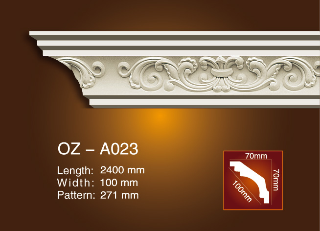 Carving Cornice Moulding OZ-A023 Featured Image