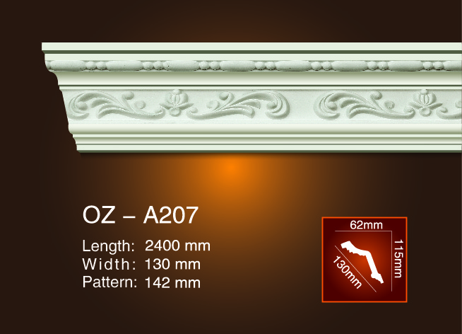 Carving Cornice Moulding OZ-A207 Featured Image