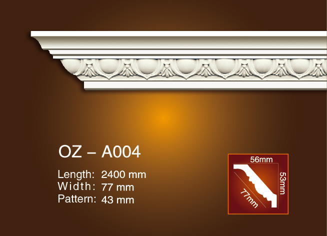 Carving Cornice Moulding OZ-A004 Featured Image