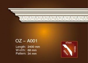 Carving Cornice Moulding OZ-A001