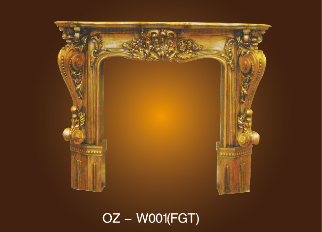 Combination Fireplace Wall Cage OZ-W001(FGT) Featured Image