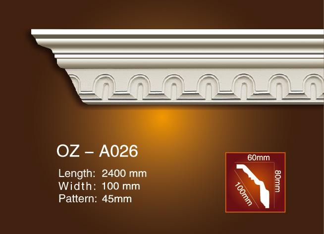 Talla destacados Cornisa Moldeo OZ-A026 Imagen