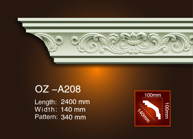 OEM China Arabic Cornice Moulding -