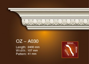 Carving Cornice Moulding OZ-A030