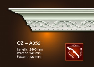 Carving Cornice Moulding OZ-A052